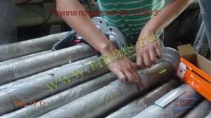 Процесс производства трубчатых опор