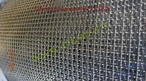 сетка проволочная тканая с квадратными ячейками