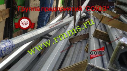 опоры освещения металлические оцинкованные производство